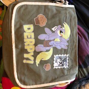 Derpy My Little Pony Messenger Bag